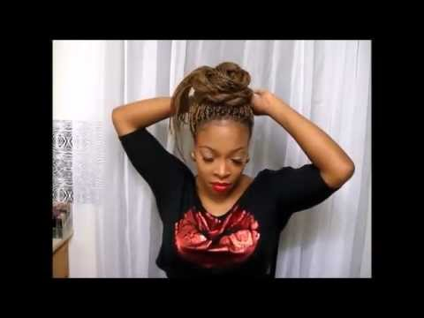28 10 Ways To Style Your Senegalese Twists Braids Updos