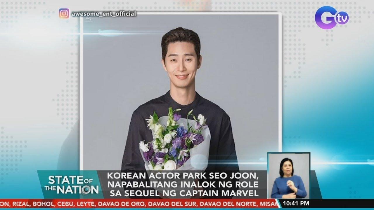 Is Park Seo Joon appearing in 'Captain Marvel 20'   SONA   YouTube