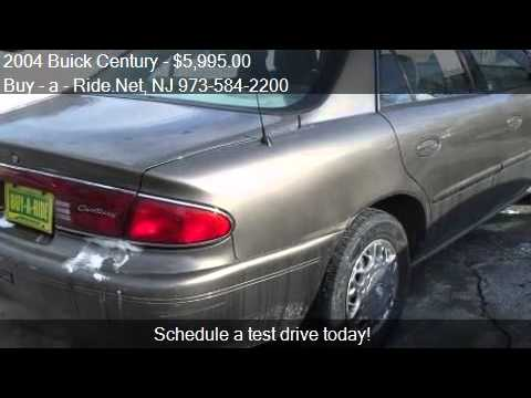 2004 Buick Century For Sale In Mine Hill, NJ 07803 At The Bu