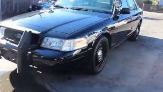 2009 Ford Police Crown Victoria Police Interceptor 83K miles For Sale