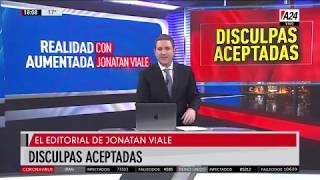 Jonatan Viale aceptó las disculpas de Alberto Fernández