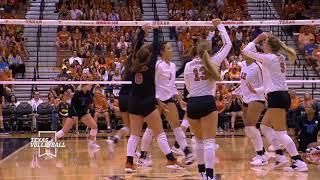 Texas Volleyball vs Kentucky LHN Highlights
