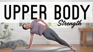 Yoga For Upper Body Strength  |   Yoga With Adriene