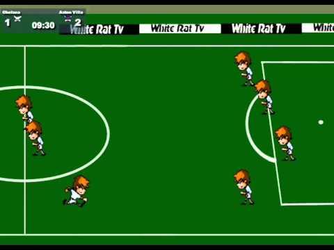Aston Villa 4 Chelsea 2 Free Online Football Game