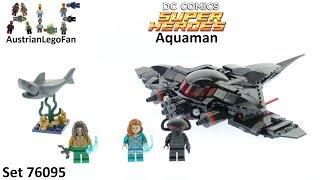 Lego DC Super Heroes 76095 AQUAMAN BLACK MANTA STRIKE Aqua Man Mera Shark New