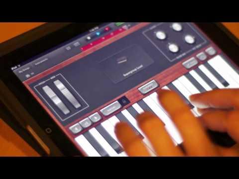 Teenage Dream created in GarageBand for iPad