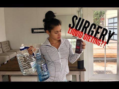 I'm sill working out after surgery | Liquid diet | Bikini prep series Vlog 9