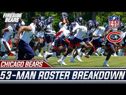 Chicago Bears 53 Man Breakdown Part 1 - Offense