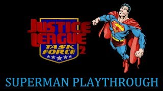 [MUGEN Gameplay] Justice League Task Force 2 by ZVitor -Superman Playthrough-