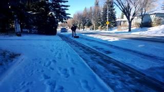 STIHL MM-55 Power Broom - Quick snow removeal