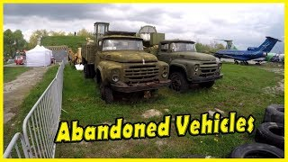 Creepy Abandoned Military Trucks Exploring 2018. Old Abandoned Heavy Equipment 2018