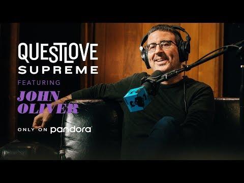 John Oliver Interview on Dustin Hoffman | Questlove Supreme on Pandora