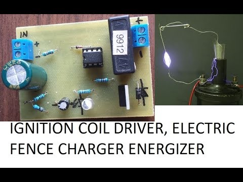 Ignition Coil Driver Electric Fence Charger Circuit Diy