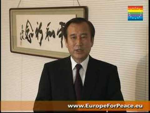 Mayor's Akiba message to The Europe for Peace meeting