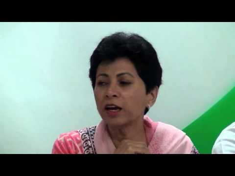 AICC Press Conference addressed by Kumari Selja on 23 Oct, 2015