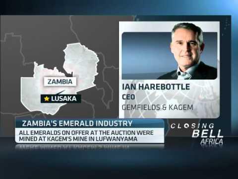 Gemfields & Kagem open emerald auction in Zambia