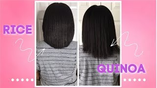 Quinoa Water vs Rice Water for Extreme Hair Growth Results (5 days)