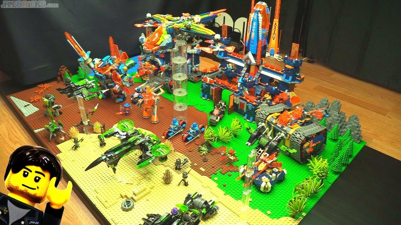 Farewell Lego Nexo Knights Final Year 3 Display Retrospective