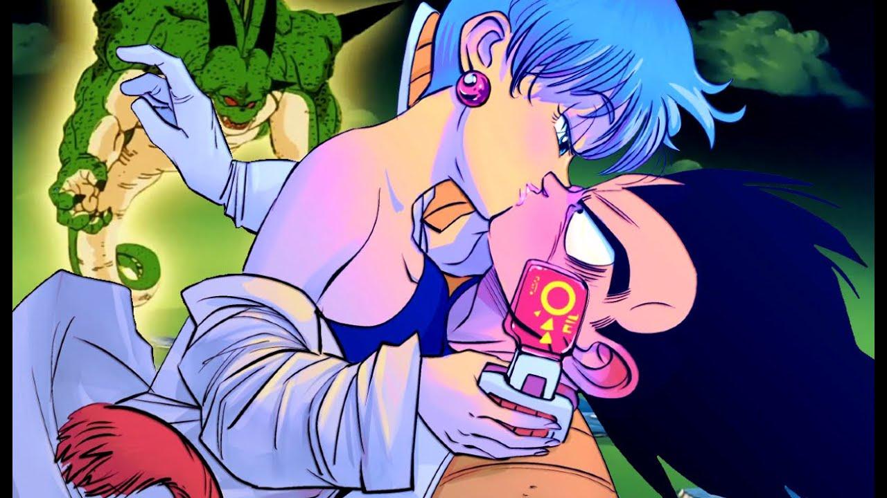 Vegeta and bulmas first kiss episode