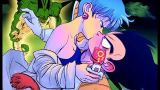Bulma And Vegeta's FIRST Kiss On Namek