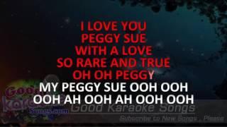 Peggy Sue - Buddy holly (Lyrics Karaoke) [ goodkaraokesongs.com ]