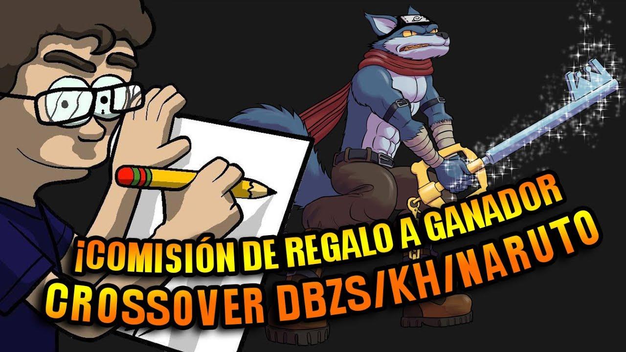 Gana Comisiones - Crossover Bergamo DBZS Kingdom Hearts Naruto
