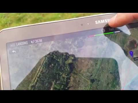 Test Dji Phantom 2 Vision Plus ( Flying Tablet ! ! )