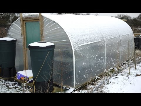 How To Keep A Polytunnel Warm