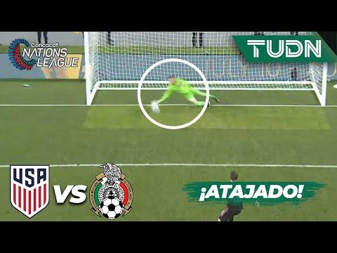 ¡ADIÓS título! Guardado falla el penal | USA 3-2 México | CONCACAF Nations League - Final | TUDN