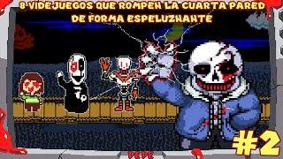 8 Videojuegos que Rompen la Cuarta Pared de Forma ESPELUZNANTE (PARTE 2) - Pepe el Mago
