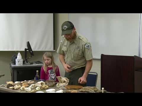 Mr. Billy Bailey, Florida Caverns State Park Specialist, Marianna Florida. Interpretive program on t
