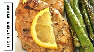 How to Make Grilled Lemon Chicken