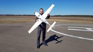 Не летал год ... Пытаюсь посадить самолет Dynam SR22