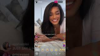 Kenza Boutrif @6Kenza Talks About Why She Cuts People Off. Instagram Live (20/9/20)