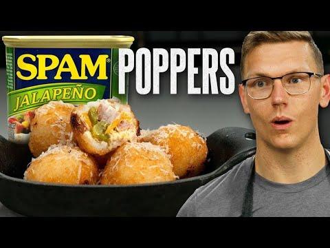 Spam Jalapeno Poppers Recipe | Mythical Kitchen