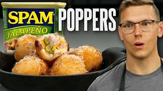 Spam Jalapeno Poppers Recipe | Mythical Kitchen