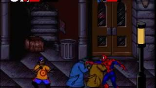 spider man venom maximum carnage snes gameplay