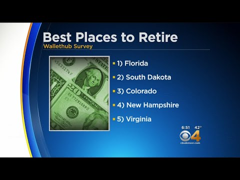 BEARDO - Colorado THIRD for best places to retire in