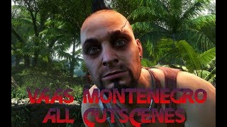 Far Cry 3 - Vaas (All cutscenes)(This video depicts all cutscenes with Vaas Montenegro, the secondary antagonist in Far Cry 3. The text on the screen is in swedish. Vass's voice and body are ..., 2012-12-05T00:34:14.000Z)