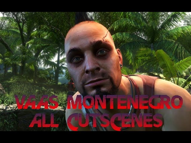 Far Cry 3 Vaas All Cutscenes Youtube