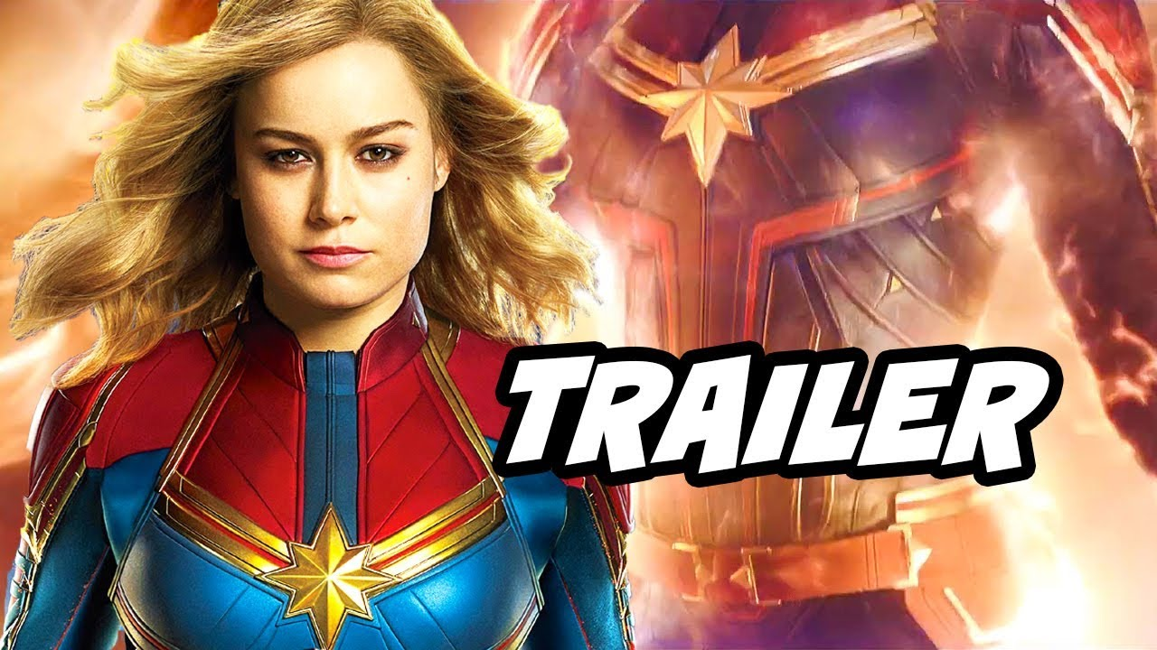 Captain Marvel Official Trailer Avengers 4 Easter Eggs