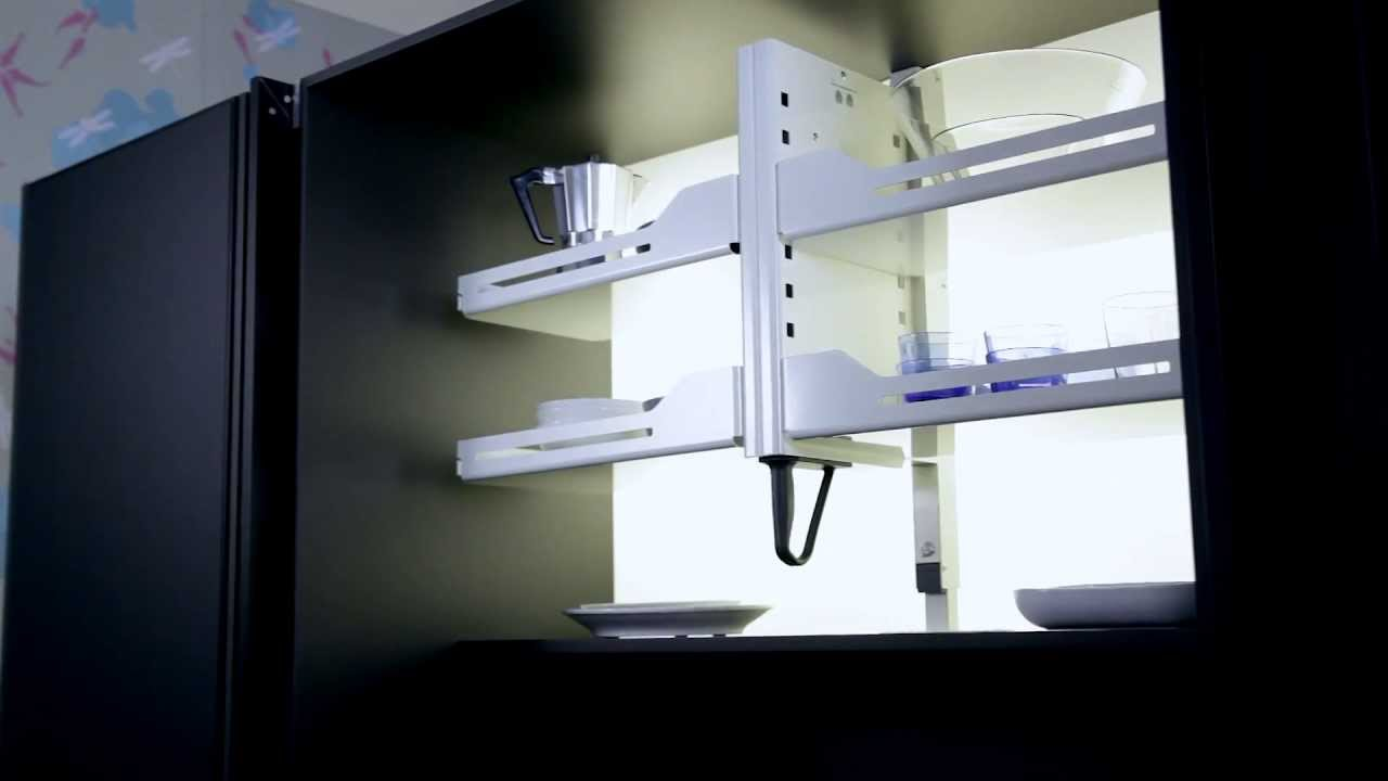 Shelf Lift Pegasus For High Overhead Wall Cupboards From