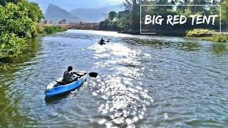 Kayaking & Camping Outdoors | Big red Tent Mumbai | MuscleMadTV