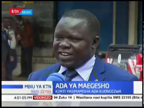 Mahakama yasitisha ada ya maegesho ya magari iliyopitishwa na serikali ya Nairobi | MBIU YA KTN