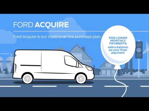Ford Credit Commercial Vehicle Finance | Ford Acquire | Vospers Transit Centre