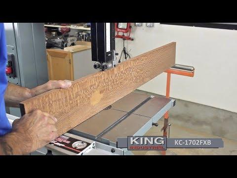 King Industrial Wood Bandsaws