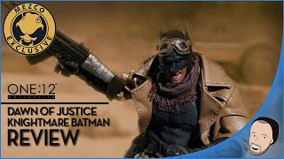 Mezco One:12 Exclusive Knightmare Batman Review (My First Review)