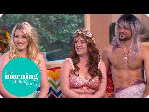 We Love Being Professional Mermaids And Mermen   This Morning