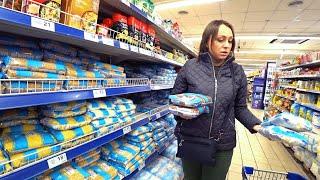 Закупили продукты будем сидеть дома на Карантине из-за Угрозы Коронавируса в Украине.