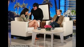 KENDALL JENNER SCARE On ELLEN SHOW_WOW!!! EPIC SCARE_MUST SEE {VIDEO 1080p HD} 9th FEB 2019 ||!_